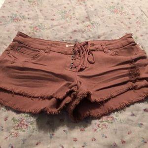 Billabong cut off shorts